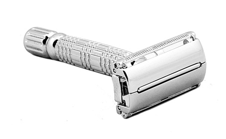 Men's Stainless Steel Double Edged Razor Shaving Kit d4847382-bb74-4799-af0a-393859a56895
