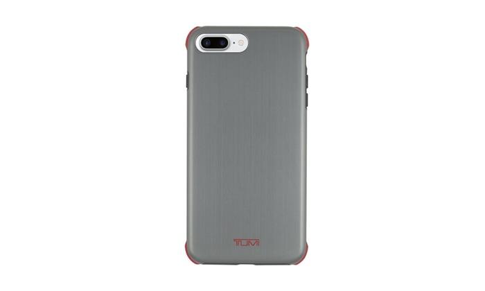 quality design 10766 c316c iPhone 8 Plus iPhone 7 Plus Case, Tumi Protection Brushed Gunmetal ...