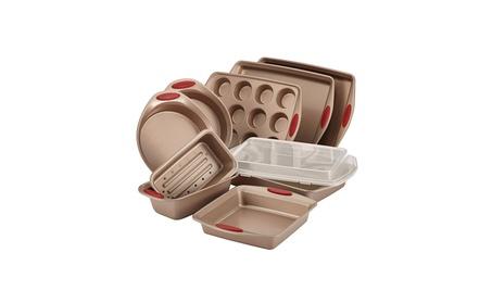 Rachael Ray 10-Piece Cucina Nonstick Bakeware Set, Latte Brown dbf93db4-b8c9-4e3a-92e5-627da8d2f88b