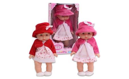 "Cute Baby Lovely Baby Doll - Asst, 12""L 98542a38-80ab-4d5e-857a-abe771a11146"