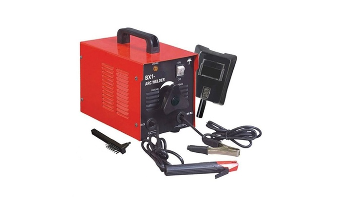 110V Arc Welder 100 Amp Rod Stick Welding Kit with Mask & Chipper Brus