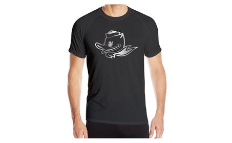 Men Oregon Ducks 1 Platinum Logo Athletic Quick Dry T-shirt Black c899ebed-baf0-449e-898c-f222a4ca1505