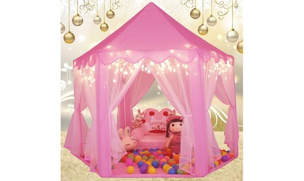 Princess Castle Play House Large Outdoor Kids Play Tent for Girls