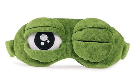 Unisex Cooling Gel Frog Eyes Sleep Mask