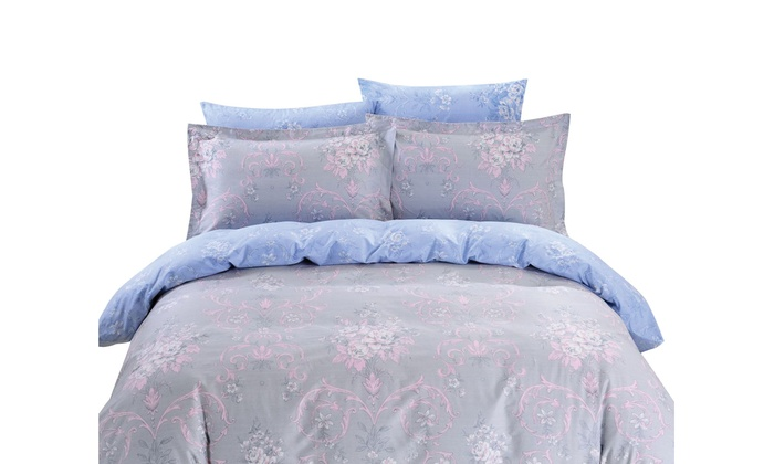 Dolce Mela Duvet Cover Sheets Set For Naxos Bedding