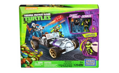 Mega Bloks Teenage Mutant Ninja Turtles Donnie Turtle Racer 68401276-821a-4ea2-a4ef-570e549d1f35