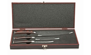 Japanese Chef Knife Set with Storage Box (3-Piece)