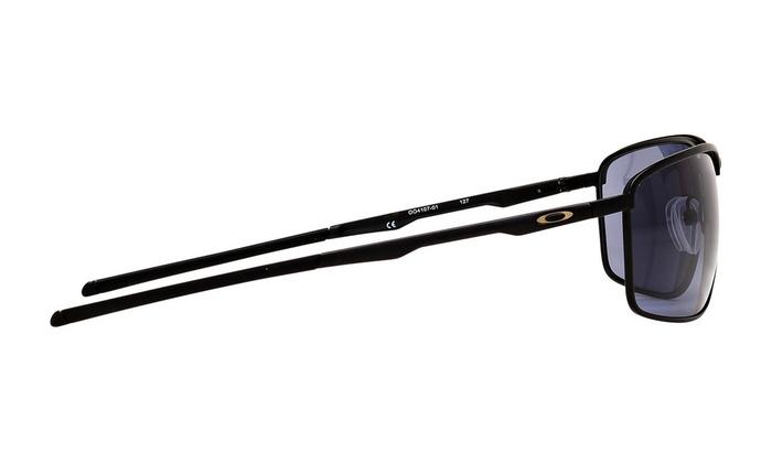 72c5bef33b8 Oakley Men s Conductor 8 Matte Black Frame   Black Iridium Polarized Lenses