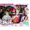 My Little Madilynn 'Just Married' Toy Playset w/ Bride & Groom Dolls, Dresses