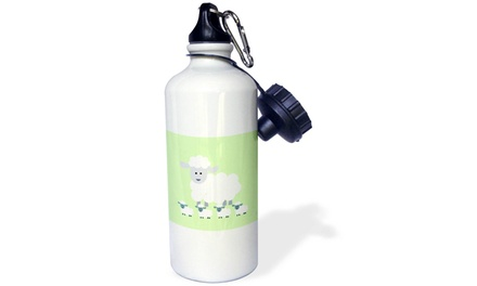 Water Bottle Lamb lime kids room decoration