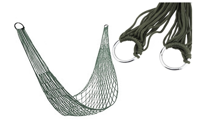 Camp Sleeping Gear Camping & Hiking Strong Mesh Net Nylon Rope Outdoor Travel Camping Hammock Hanging Sleeping Bed Relax After A Hard Day.