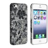 Insten Rubber Coated Hard Case For Iphone Se/5 5s Flower Floral Style