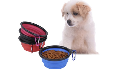 2-Pack Collapsible Pet Feeding Bowl 7a741c95-a486-4cba-a403-5602a8bb44c5