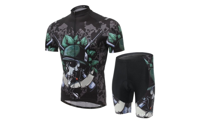 Outdoor Men Cycling Suit Jersey Quick Dry Breathable Clothing