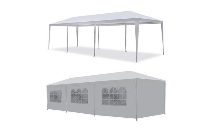 10 X30 Outdoor Party Canopy Wedding Tent White Gazebo