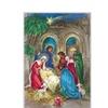 """Alexander Taron 10075-Korsch Advent - Nativity Scene - 11.5""""H x 8""""W x .1""""D"""