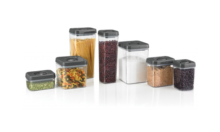 Polder Twist and Lock Food Storage Containers with Air Tight Lids