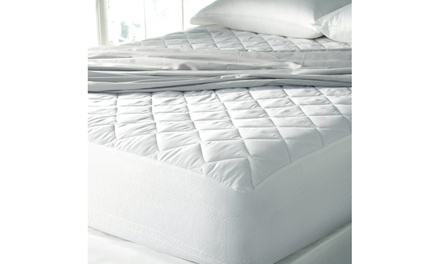 Simple Comforts Quilted Hypoallergenic Mattress Pad