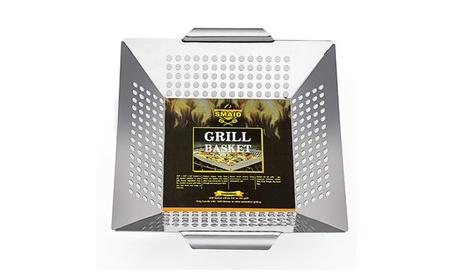 Professional-Grade Stainless Steel Vegetable Grill Basket 6f34a00d-b1d8-4b18-8b4d-cda247c5a166
