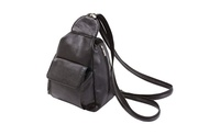 Bnfusa Lupu705Bl Ladies Black Backpack Purse With Multiple Compartment (UnbeatableSale) photo