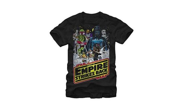 Star Wars Empire Strikes Back Men's Graphic T-Shirt