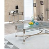 Furniture of America Phebe Contemporary Glass Table