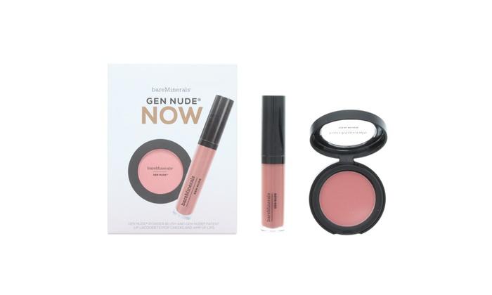 Bare Minerals Gen Nude Blush and Lip Colour Set