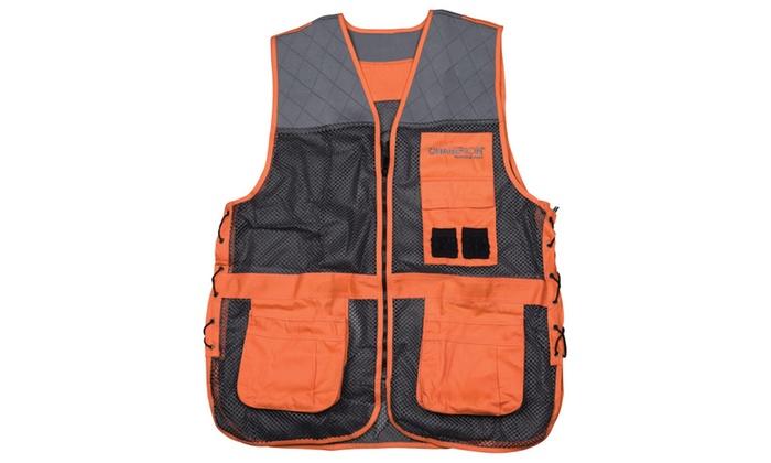 Champion Shooting Gear Orange Trap Vest Medium/Large