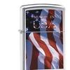 Zippo Made in USA Pocket Lighter, Brushed Chrome 24797