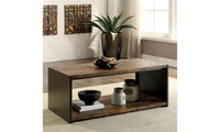 Furniture of America Barney Rustic Coffee Table