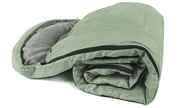 Up To 58 Off On High Quality Sleeping Bag Cam Groupon