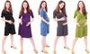 WuhouPro Maternity Super Comfy Waist Tie Dresses