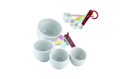 Cake Boss Countertop Accessories 8-Pc Measuring Cups & Spoons Set bcf7b1ee-338e-4735-8401-3703a47a7757