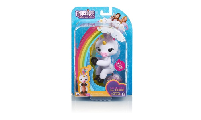 Wowwee Fingerlings Interactive Baby Unicorn Toy Gigi Groupon