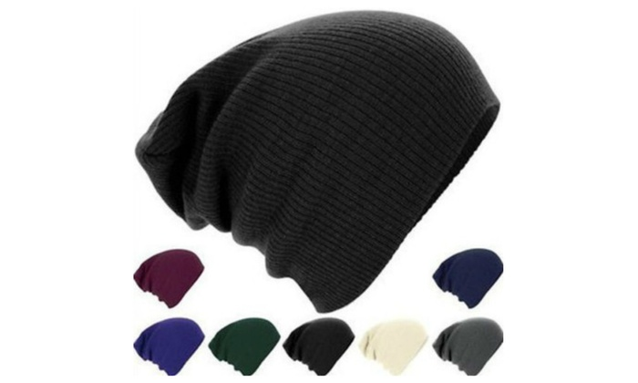 Unisex Warm Double-Layered Beanies(1-or 2- pack)