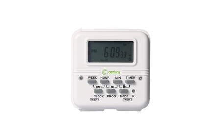 Century 7 Day Heavy Duty Digital independent Programmable Timer Dual photo