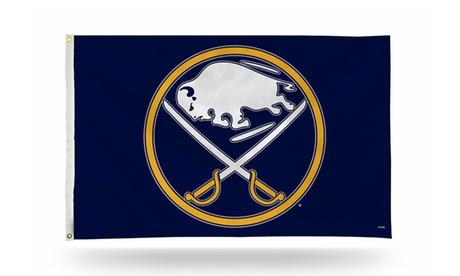 NHL 3'x5' Banner Flag 45954672-136d-47fd-94c5-36fc8b86aa25
