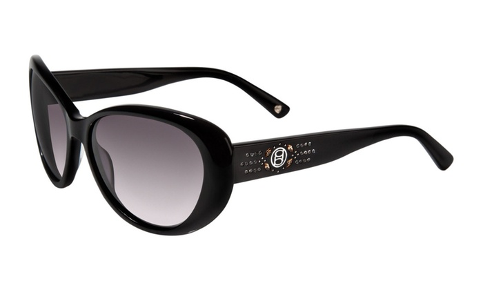 "bebe BB7037 ""Captivating"" Cat-Eye Sunglasses"