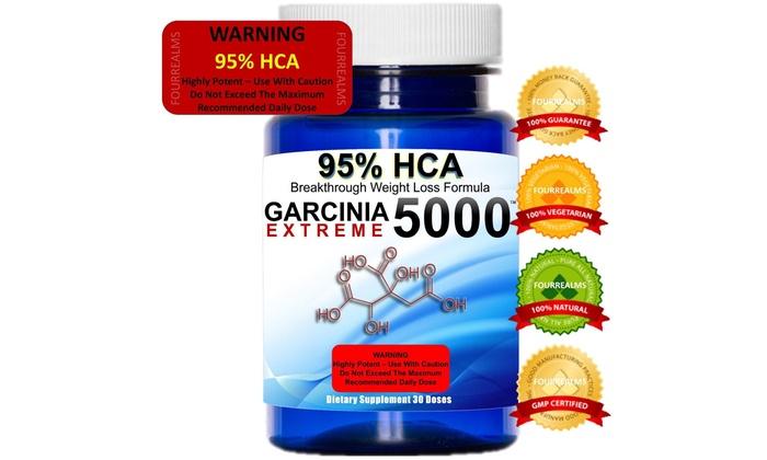 Weight Loss Garcinia Cambogia 95 Hca 5000 Groupon
