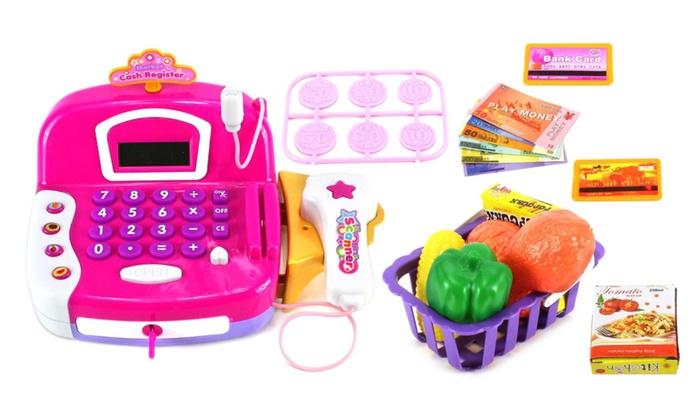 Deluxe Toy Cash Register : Deluxe smart flower cash register pretend play toy