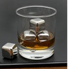 Stainless Steel Whiskey and Wine Stones (6-Piece)