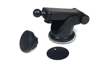 2 in 1 Magnetic Phone Stand Suction Cup Car Air Outlet Holder Mount a34b3d32-7fb6-48ba-b983-1cfce471cfa9