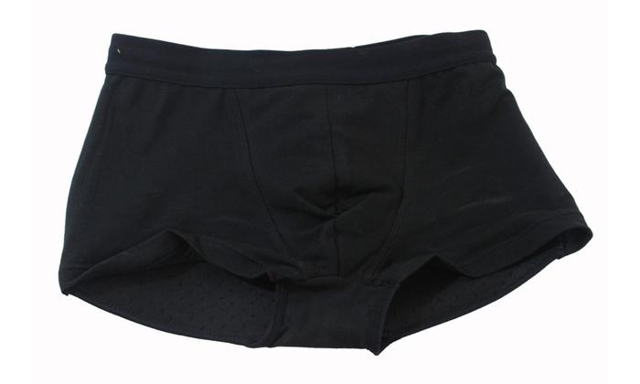 9e54a1b5d88 Fullness His Butt Booster Mens Underwear Padded Booty Backside Buttocks  Enhancer
