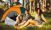 iMounTEK 3-4 Person Pop Up Tent with 2 Net Doors & Carrying Bag