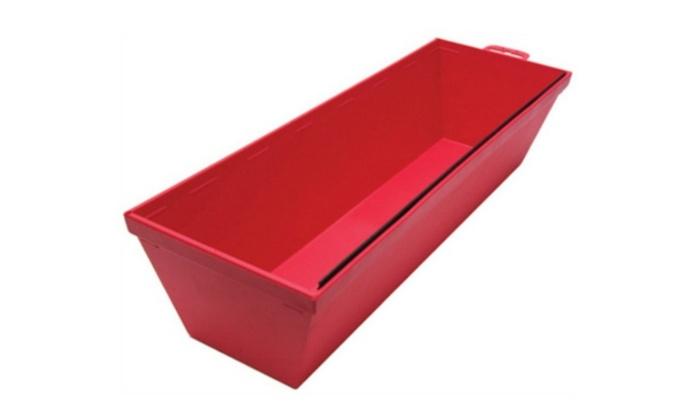 "Marshalltown 16114 Plastic Mud Pan, 12"", Red"
