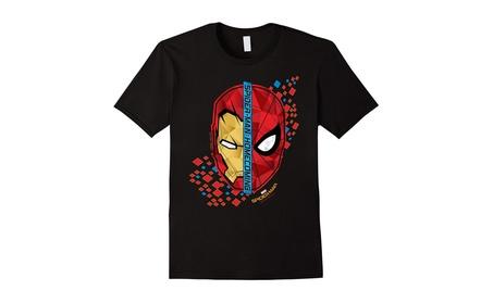 Marvel Spider-Man Homecoming Iron Man Face To Face T-Shirt 88d3a85e-3760-4606-a923-25907759d36c