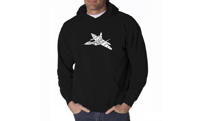 Men's Hooded Sweatshirt - FIGHTER JET - NEED FOR SPEED