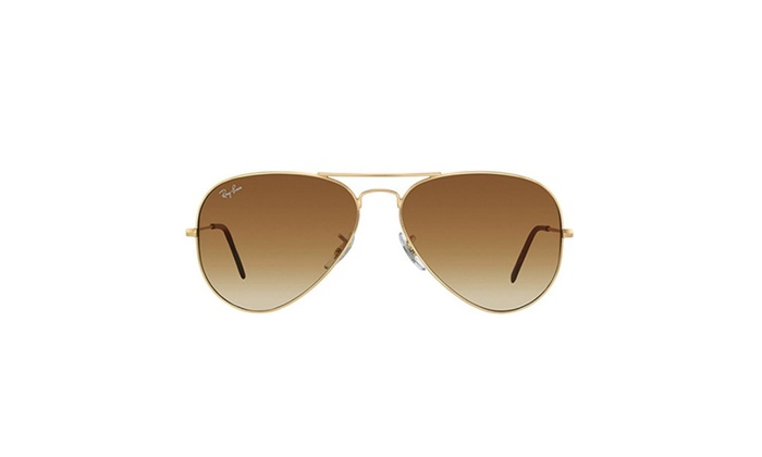 Ray-Ban Aviator 001/51 Gold / Brown Gradient Lenses