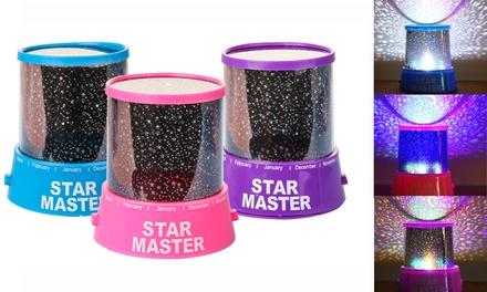 Starry Sky LED Projector Night Light Bedside Lamp for Kids Room