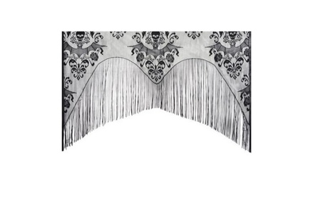 Lace Damask Curtain Halloween Decoration d67aaffa-9fce-46ea-9944-b5f005077605